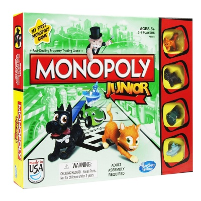 Моя первая монополия / Monopoly Junior